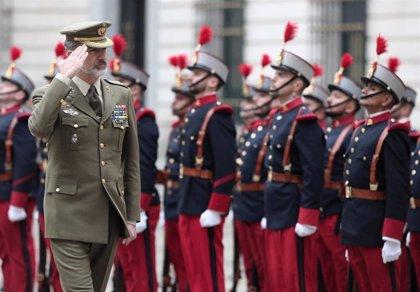 El Rey visita el Cuartel General del Ejército de Tierra