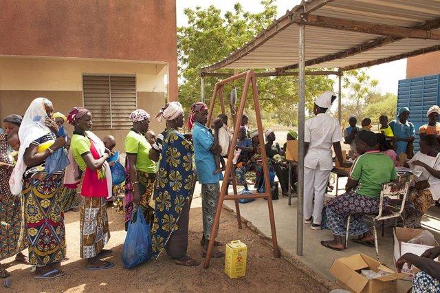 Persones desplaçades per la violència a Burkina Faso