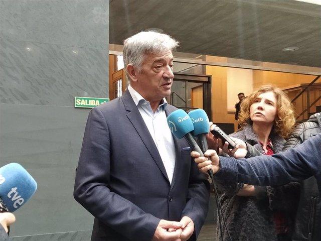 El senador autonómico por Navarra, Koldo Martínez.