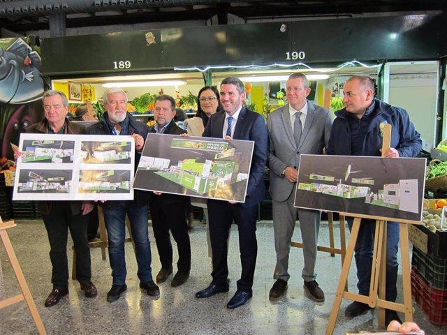 Presentación del stand de la Región de Murcia en la Feria Fruit Logística que se celebrará en Berlín del 5 al 7 de febrero de 2020.