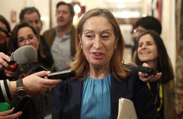 La vicepresidenta segona del Congrés dels Diputats, Ana Pastor, en una imatge d'arxiu