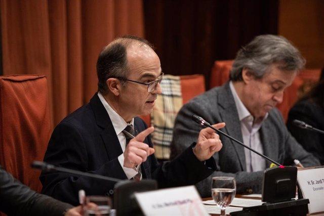 L'exconseller de la Presidència de la Generalitat i empresonat pel procés, Jordi Turull.