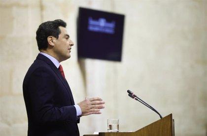 """Moreno defiende que la sanidad andaluza """"ha mejorado"""" y extenderá el servicio de Telemedicina entre centros de salud"""
