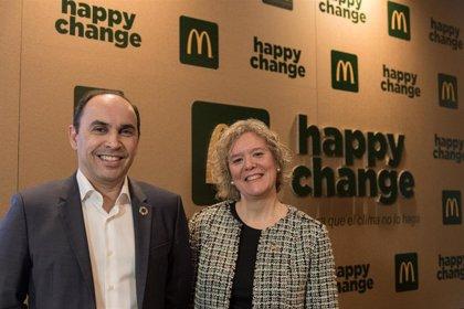 McDonald's España retira las pajitas de plástico y reducirá el consumo de este material un 40% a lo largo de 2020