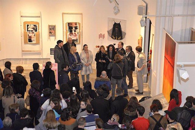 Imagen de la presentación de la exposición 'A la Calle'