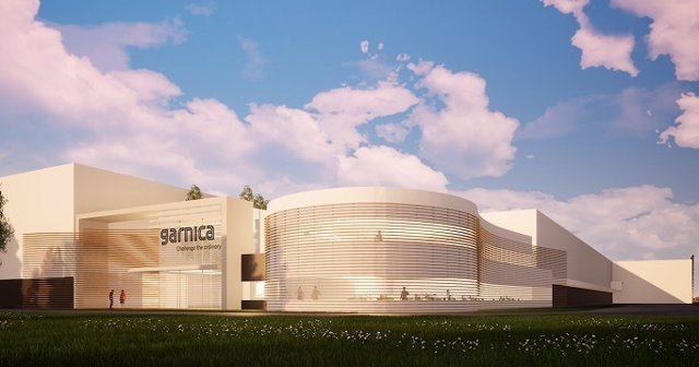 Garnica, fabricante de contrachapado de chopo, inicia la construcción de su séptima factoría en el norte de Francia.