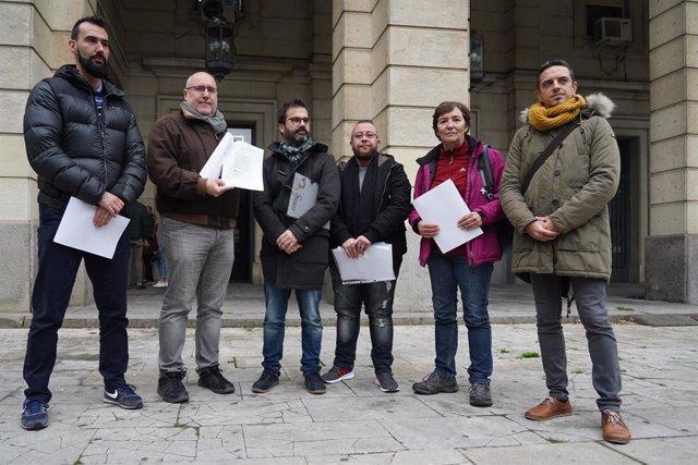 Las entidades de Sevilla LGTB, presentan un escrito ante la Fiscalía Provincial por un tuit de Vox del pasado día 18 de enero de 2020 c