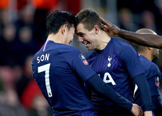Lo Celso y Son (Tottenham)