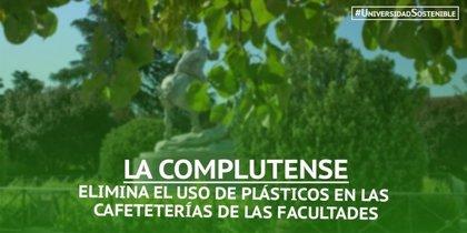 La UCM elimina los plásticos de un solo uso en las cafeterías e incorpora menú vegano
