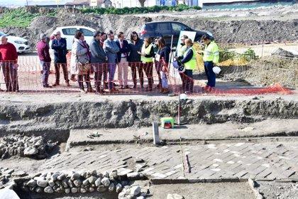 Los restos arqueológicos hallados en Vegas del Genil no retrasan el proyecto de llevar las aguas a la EDAR de los Vados