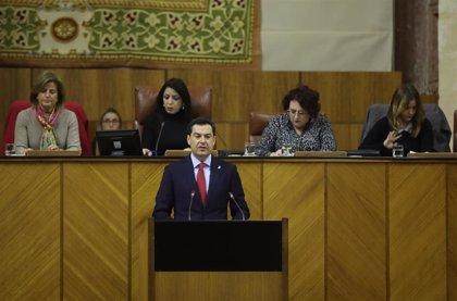 """Moreno pide a Vox """"encapsular"""" asuntos donde haya """"discrepancias"""" y afirma que el pacto funciona mejor que en otras ccaa"""