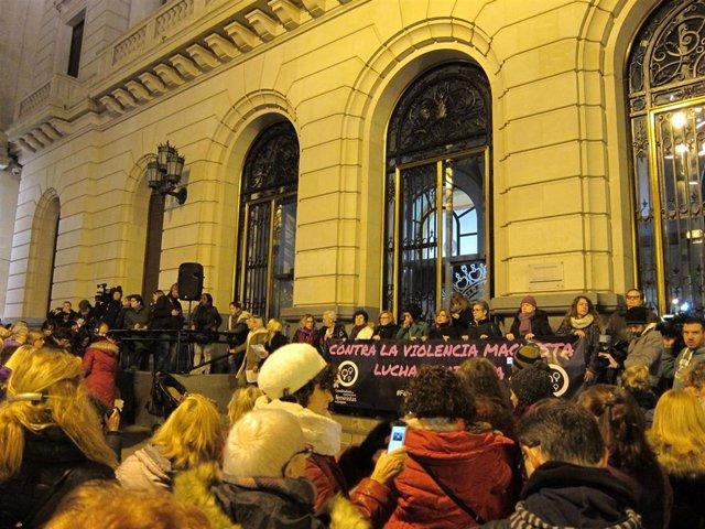 Concentración contra la violencia machista, esta tarde en Zaragoza