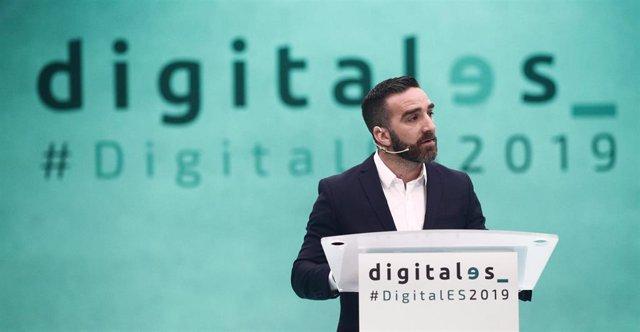 Francisco Polo durante su participación en  'DigitalES Summit 2019'