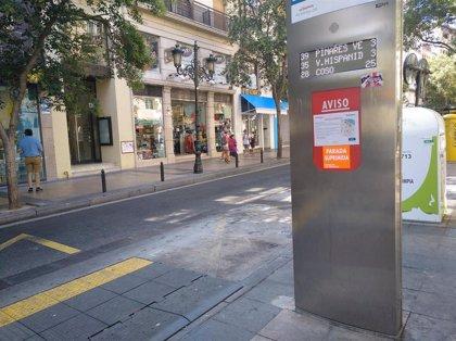 La celebración de San Valero obliga a desviar las líneas de autobús que pasan por la calle Don Jaime I