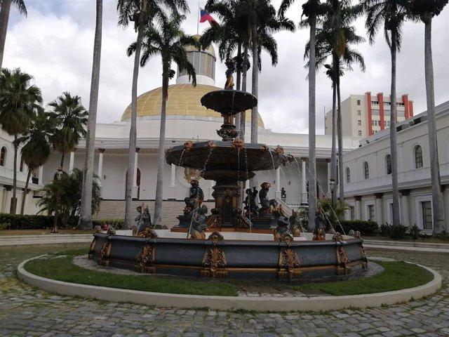 Palacio Federal Legislativo, sede de la Asamblea Nacional de Venezuela