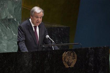 Guterres apoya la solución de dos estados en las fronteras de 1967 para el conflicto palestino-israelí