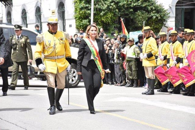 Bolivia.- El MAS impugnará la presidencia de Áñez si oficializa su candidatura a