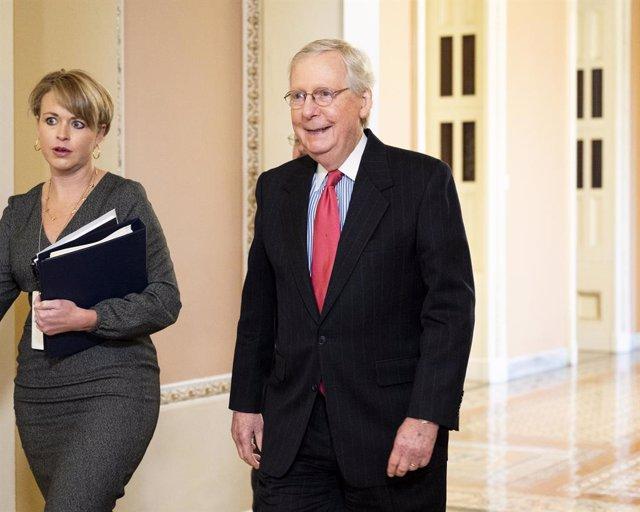 EEUU.-McConnell avisa de que los republicanos no tienen los votos necesarios par