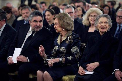 La Reina Sofía asiste al concierto en memoria de las víctimas del Holocausto