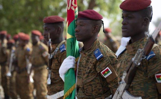 Militares de Burkina Faso
