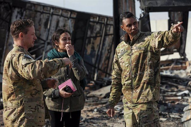 EEUU.- El Pentágono eleva a 50 los soldados heridos en los ataques de Irán contr