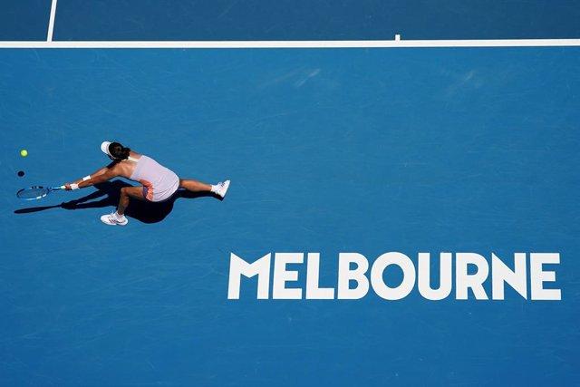 """Tenis/Australia.- Garbiñe Muguruza: """"Siempre es especial llegar lejos en un 'Gra"""
