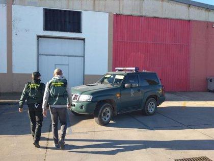 La Guardia Civil detiene a un hombre por cuatro delitos de robo con violencia e intimidación en Peralta