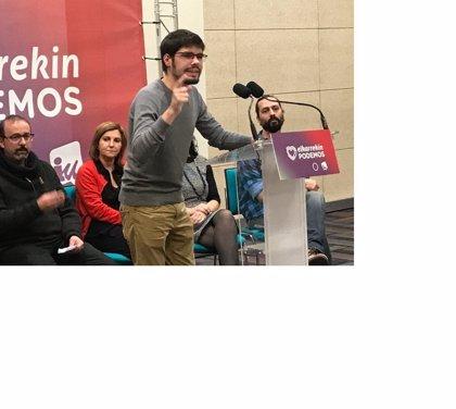 Podemos dice a EH Bildu de que no puede pretender un trasvase de votos de los morados y abogar por alianzas de izquierda