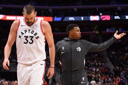 Ibaka sobresale y Gasol se lesiona en una buena jornada para los españoles NBA