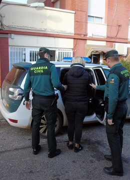 Imagen de una de las integrantes del clan familiar detenidas