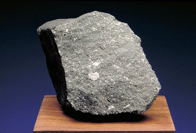 Curious Marie, un fragmento del meteorito Allende