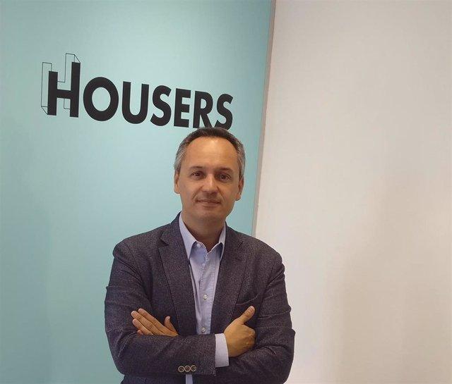 El  consejero delegado de Housers, Juan Antonio Balcázar