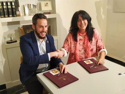 El PSOE y Unidas Podemos sellan un acuerdo político en el Ayuntamiento de Cáceres para los presupuestos