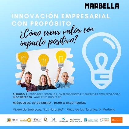 Una jornada pondrá en valor casos de éxito de innovación social de Marbella como ejemplo a emprendedores