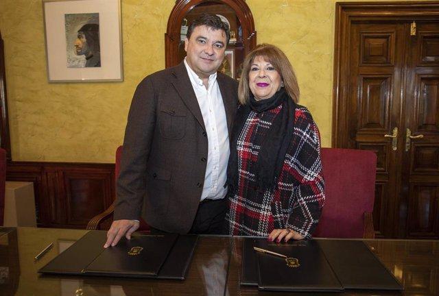 El Ayuntamiento de Huelva renueva su compromiso con AFA.