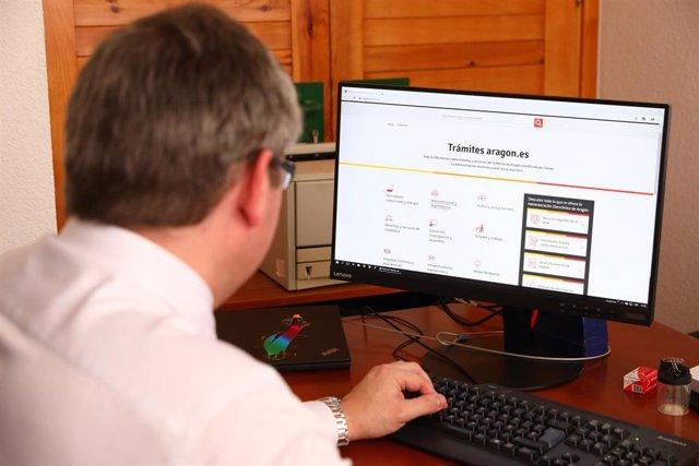 El director general de Administración Electrónica y Sociedad de la Información, Ricardo Cantabrana
