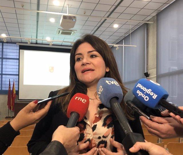 La consejera de Educación y Cultura, Esperanza Moreno