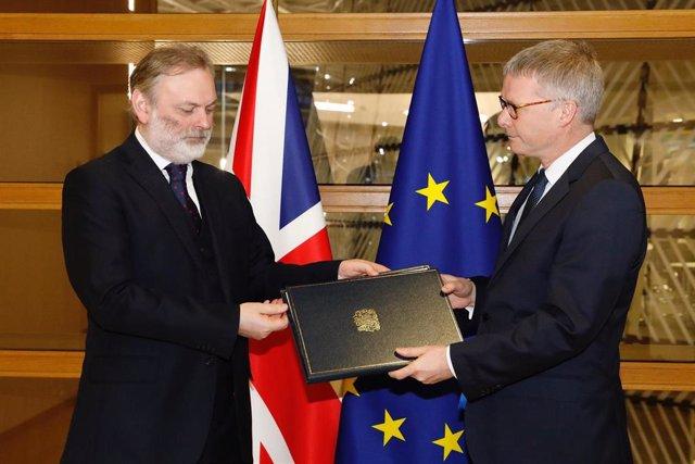 Reino Unido notifica a la UE el fin de la ratificación del Brexit