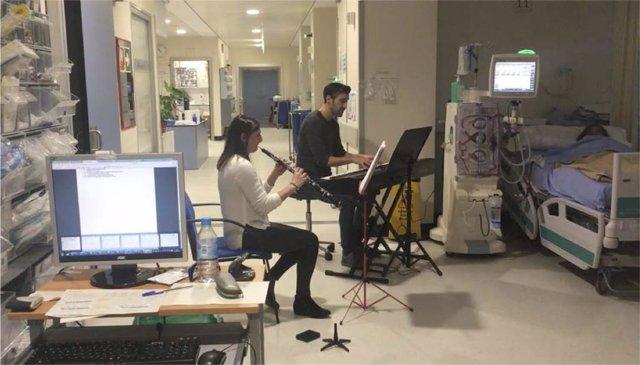 Música en hemodiálisis en Manises