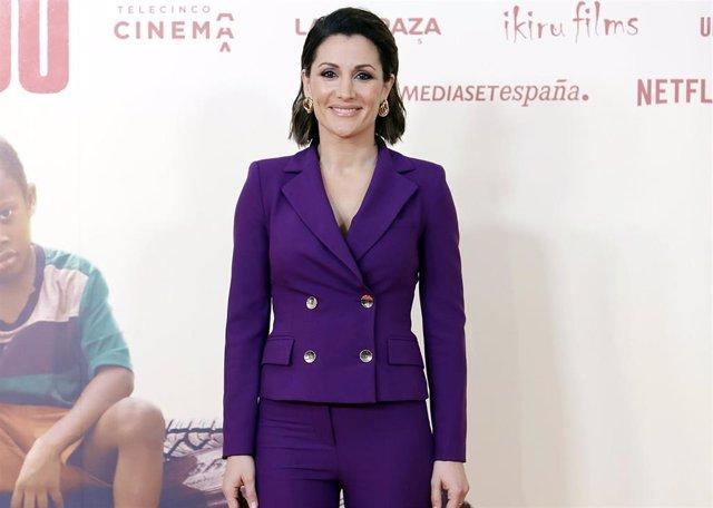Nagore Robles, en la premiere de la película 'Adú'