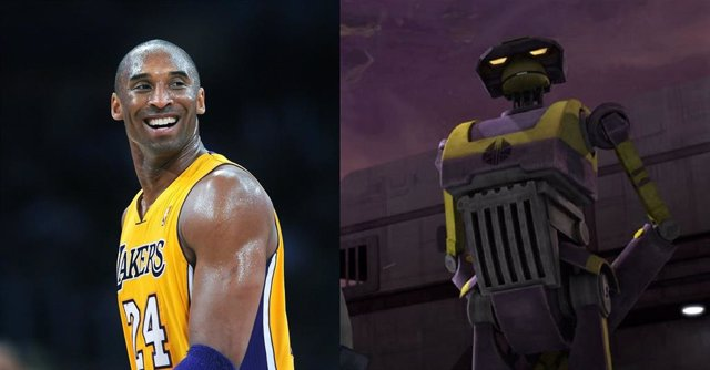Un personaje de Star Wars se inspiró en el jugador de baloncesto Kobey Bryant