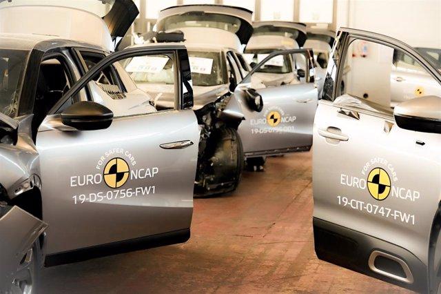 Coches probados por Euro NCAP.
