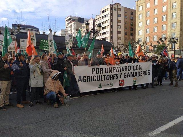 """Organizaciones agrarias y ganaderas reivindican de forma rotunda su """"grave crisi"""