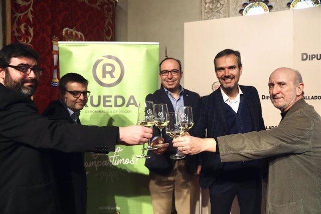 Presentación del festival en la Diputación de Valaldolid.