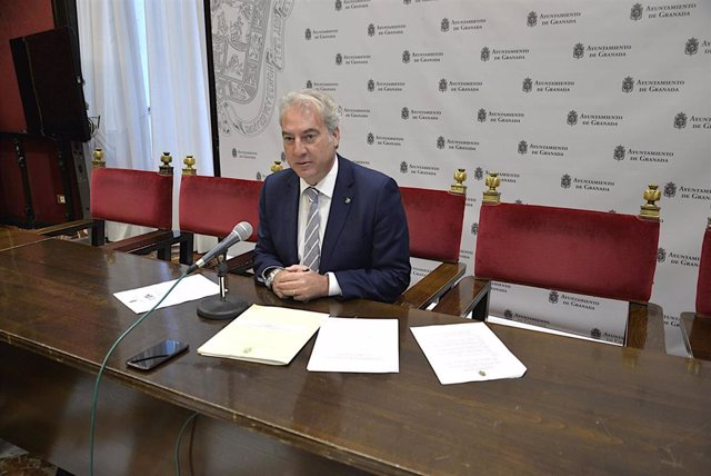 El concejal de Igualdad de Granada, José Antonio Huertas