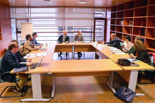 Reunión del Comité de Expertos de C-LM para abordar el coronavirus.