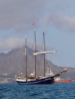 Jóvenes latinomericanos atravesarán el Atlántico a bordo del velero de tres mástiles 'Regina Maris' para llegar a la Cumbre de Clima que se celebrará en Bonn (Alemania) en junio.
