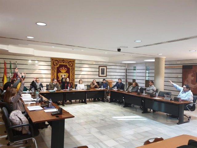 Pleno del Ayuntamiento de Punta Umbría correspondiente al mes de enero de 2020.