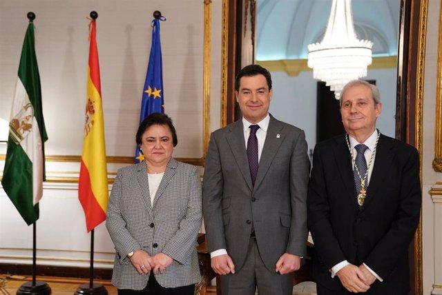 Nota De Prensa. Moreno Preside La Toma De Posesión De Antonio Dorado Como Miembro Del Consejo Consultivo