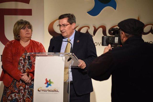 Imagen de la presentación de las ayudas a jóvenes autónomos en municipios en riesgo de despoblación en Granada